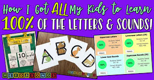 This great tune teaches 2 nouns for every letter of the alphabet plus the phonetic sound that each letter makes. How I Got All My Kids To Learn 100 Of The Letters Sounds Heidi Songs