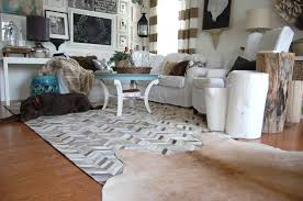 rawhide company blog cowhide rugs in interior design and beyond pertaining to area rug plans 12