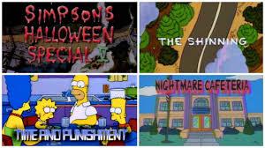 Watch All U0027The Simpsonsu0027 Incarnations From U0027Treehouse Of Horror All The Simpsons Treehouse Of Horror Episodes