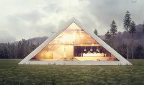 Pyramid Houses Pyramid Shaped House Makes You Feel Like An Ancient Egyptian Emperor