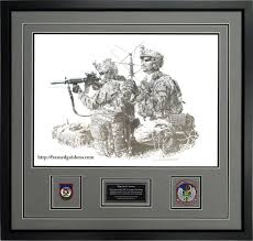 forward air controllers custom framed military print