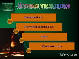 Презентация на тему Попутный нефтяной газ Природный газ Каменный  2 Попутный нефтяной газ