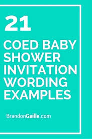 Couples Baby Shower Invitation Wording Getgiftcardcode Club