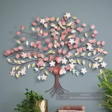 autumn hearts tree wall art wall art