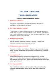 Horizontal Tank Calibration Chart Tank Calibration Presentation