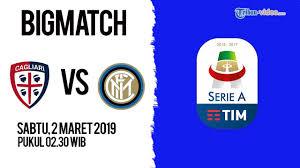 Cagliari Vs Inter Milan Live