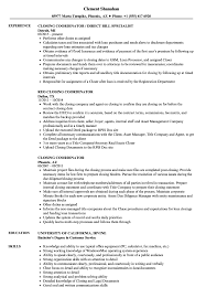 Closing Coordinator Resume Sample Closing Coordinator Resume Samples Velvet Jobs 1