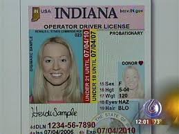 License Drivers Drivers Drivers Indiana License Template Template Template License Indiana Indiana