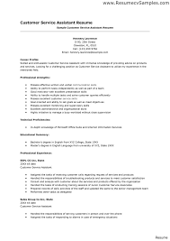 examples of customer service resumes the best resume objective resumes for customer service reps 34a