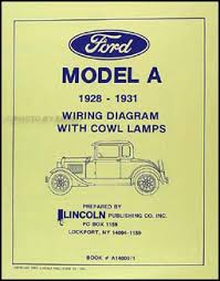 1928 1931 ford model a with cowl lamps wiring diagram manual reprint Model A Ford Wiring Diagram Model A Ford Wiring Diagram #61 model a ford wiring diagram with cowl lights