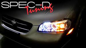 2001 Nissan Maxima Lights Specdtuning Installation Video 2000 2001 Nissan Maxima Projector Head Lights
