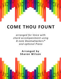 Come Thou Fount Chord Chart Come Thou Fount Of Every Blessing For Voice And 8 Note