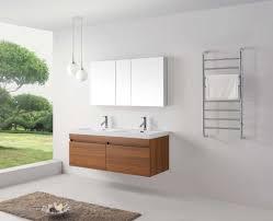 abersoch 55 inch wall mounted double sink bathroom vanity plum finish