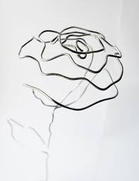 Diy wire rose bouquet rh craftingfingers co uk flowers made from wire rose made from wire