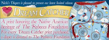 Dream Catcher Foundation Nicki's Diapers release of new print Dream Catcher Nicki's News 16
