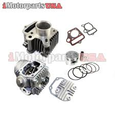 dirt bike engine cylinder engine rebuild kit chinese 110cc roketa kazuma taotao ssr atv dirt bike