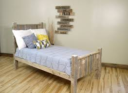 full size pallet bed plans glowing bed frame