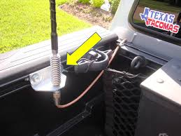 cb install cobra 75 wx st tacoma world the ground wire is grounded to this bolt arrow