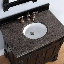 Bathroom Vanity Granite Brookfield 36 Inch Cottage Antique Black Bathroom Vanity Carrera