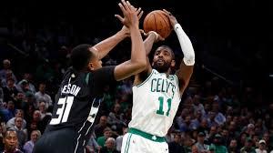 NBA scores, highlights: Kyrie Irving, Celtics hand Bucks first loss;  Lillard too much for Davis-less Pelicans - CBSSports.com