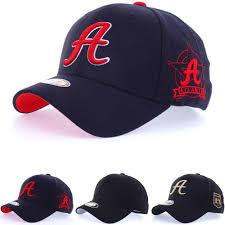 Unisex Mens Womens Atlanta Braves A Logo <b>Flexfit</b> Baseball Cap ...