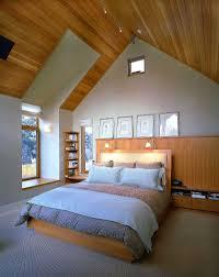 Low Ceiling Attic Bedroom Double Brown Wooden Bed Frame Low Ceiling Attic Bedroom Ideas Free