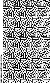 Geometric Shapes Coloring Page 94