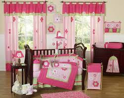 baby crib sheets for girls flower pink green baby crib bedding 9pc girl nursery crib set