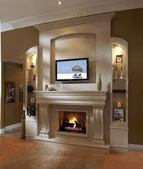 home design gas fireplace ideas with tv above powder room shed gas fireplace ideas with