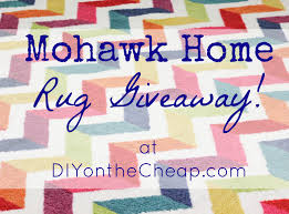 mohawk home rug review giveaway