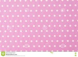 Witte Polkadot Met Roze Achtergrond Stock Foto Afbeelding
