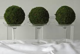 Moss Balls Wedding Decor Gorgeous Moss Pomander Balls Set Of 32 32 Inch Moss Balls For Home Or Wedding
