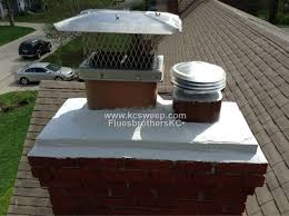new crown and cap completed by fluesbrothers chimney service in kansas city