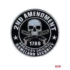hot leathers homeland security iron sew on embroidered patch