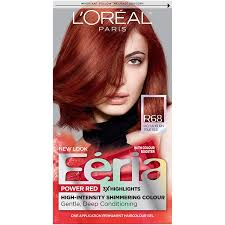 L Or Al Paris Feria Permanent Hair Color R68 Ruby Rush Rich
