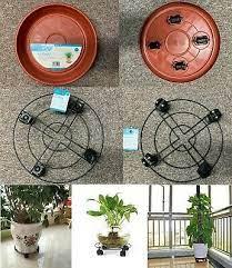 new plastic metal plant pot mover 4