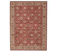madeline persian rug red multi