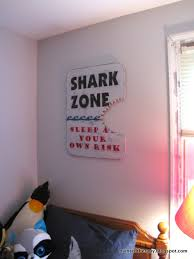 Lovely Shark Bedroom Decor 13