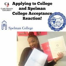 spelman college acceptance reaction application process spelman college acceptance reaction application process