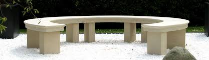 acanthus cast stone benches tables