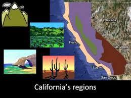 California Regions Californias Regions