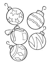 Christmas Ornament Coloring Sheet Christmas Ornament Coloring Sheets