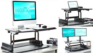 full image for stand up computer desk canada image gallery converter glass and printer