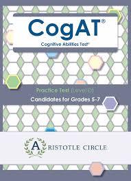 cogat practice test level d grades 5 7