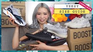 Yeezy Womens Size Chart Complete Yeezy Sizing Guide Yeezy 350 V2 Yeezy 500 Yeezy 700 Yeezy 750