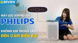 Máy lọc không khí Philips: lọc sạch bụi mịn PM2.5, cảm biến bụi nhạy  (AC1215/10) • Điện máy XANH - YouTube