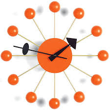 vitra 13inch ball clock by george
