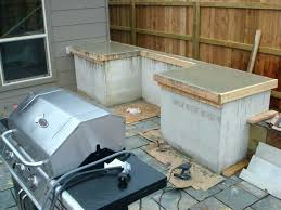 outdoor grill prep station outdoor grill prep station plans kitchens 5 and grilling stations the garden