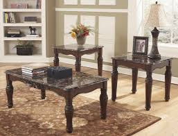 Ashley Furniture Kitchen Table And Chairs Buy Ashley Furniture T533 13 North Shore 3 Piece Coffee Table Set