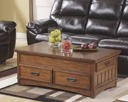 ashley furniture cross island lift top cocktail table in medium brown by ashley furniture t719 9